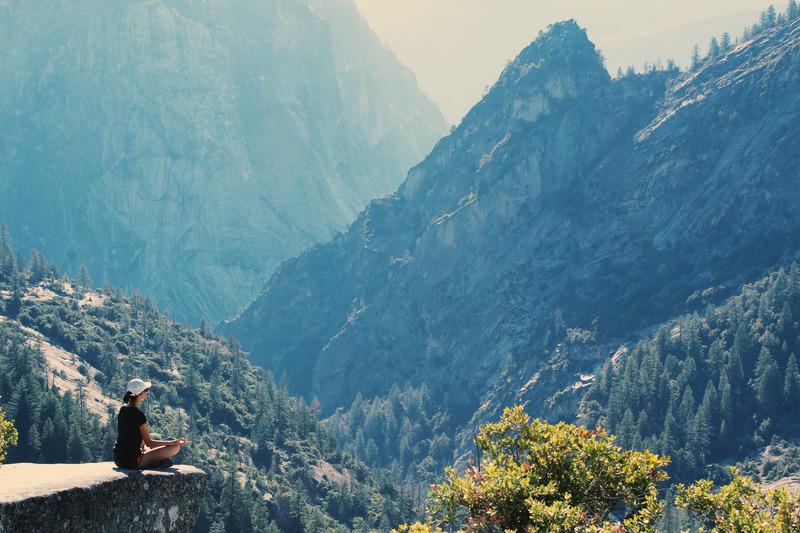 Bild:Die Meditation und das Schweigen