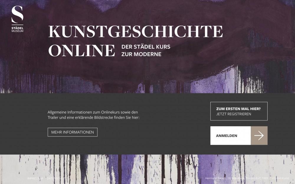 Bild:Kunstgeschichte Online – Der Städel Kurs zur Moderne