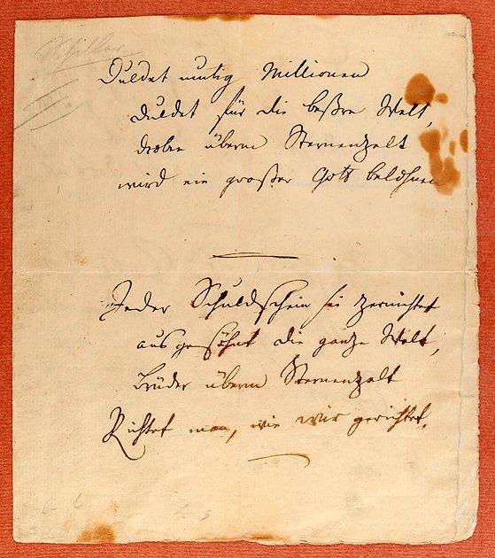 Bild:Das Leben - ein Gedicht! Rezitation zum Kursbrief 2